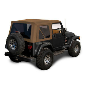 Jeep Wrangler Tj Soft Top 1997 2002 Tinted Windows Spice