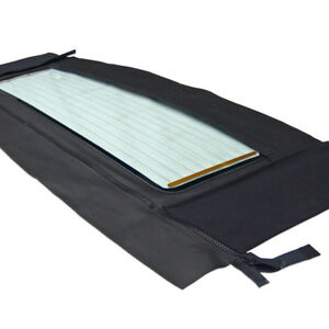 Saab 900 1986 1994 Convertible Top Window Black Haartz Stayfast
