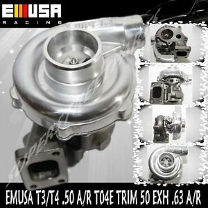 Emusa T3 t4 Hybrid Turbo Charger 50 A r Compressor 63 A r Turbine Wheel