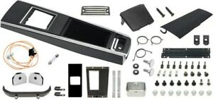 1967 Camaro Console Kit W Manual Trans Without Gauges Unassembled