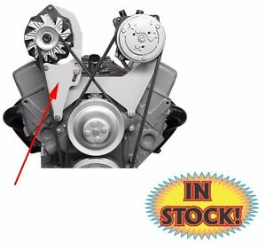 Alan Grove Alternator Bracket For Small Block Chevy W Short Water Pump 200r