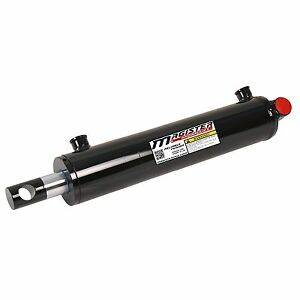 Hydraulic Cylinder Welded Double Acting 3 Bore 12 Stroke Pineye End 3x12 New