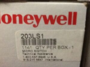 Honeywell 203ls1 Micro Switch