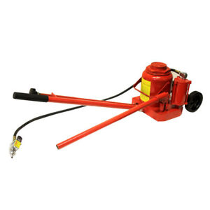 50 Ton Air Hydraulic Bottle Jack Super Duty Auto Truck Rv Repair Lift W handle