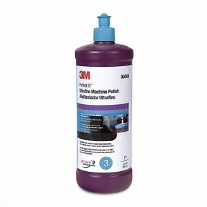 3m 06068 Perfect it Ultrafine Machine Polish 1 Quart