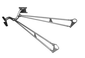 1935 40 Ford Drag Race Ladder Bar Kit With Crossmember Axle Plates Plain