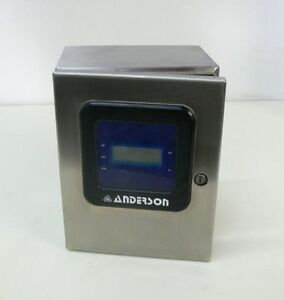 Anderson Tdl Differential Level Transmitter W Stainless Steel Hoffman Enclosure