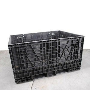 64 X 48 X 34 Refurbished Collapsible Plastic Bulk Container