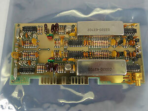 Hp Agilent 3320b Frequency Synthesizer Standard Circuit Board P n 03320 66505