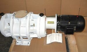 Pfeiffer Wkp 2000 Roots Vacuum Pump Blower Pp w02 076 k519 New Condition