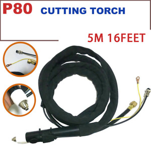 P80 Plasma Cutting Machine Steright Torch 5m Cables Cnc Plasma Table 16 Feet