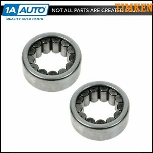 Timken Axle Shaft Wheel Bearing Rear Pair For Gm Dodge Ford With 9 5 Ring Gear
