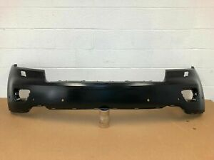 2011 2013 Oem Jeep Grand Cherokee Front Bumper Cover W 6 Sensors Holes Washer