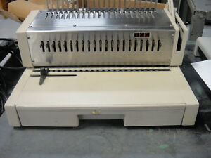 Tcc Plastic Comb Binding Machine