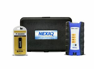 124032 Nexiq Usb Link 2 With Universal Diesel Diagnostic Software Trucks Engines