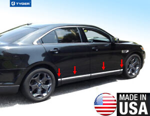 Tyger For 2010 2015 Ford Taurus Lower Accent Body Side Molding Trim 1 5 8pc