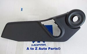 New 2007 2017 Jeep Patriot Compass Drivers Side Outer Seat Trim Panel Bezel Oem