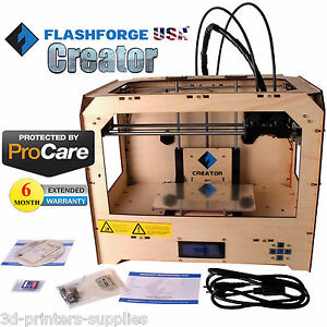 Flashforge Usa 3d Printer Creator Abs pla With 6 Month Extended Warranty