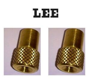 LEE Pro Auto Disk Powder Measure Hopper Nuts 2 Pack # AD3397  New!