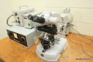 Carl Zeiss Photomicroscope Microscope Achr Apl 1 4 0 32 Condenser