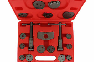 Abn Front And Rear Caliper Brake Rewind And Piston Compression 18 Piece Tool Kit