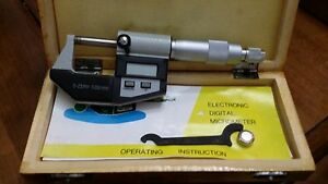 0 25 Mm 0 001 Mm Electronic Digital Micrometer