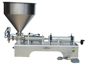 Paste Liquid Cream Filling Machine 10 300ml For Chilli Sauce Toothpaste