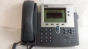 Cisco Cp 7940g Ip Phone 7940 Unifies Voip Business Phone W Handset power Supply