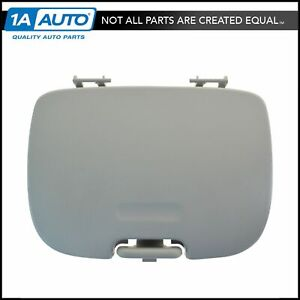 Oem Overhead Console Garage Door Opener Cover Flint Gray For Ford Pickup New
