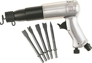 Ingersoll Rand Ir 117k Air Hammer With 5 Pc Chisels