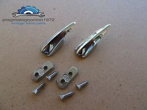 Volvo Amazon 121 122 Coat Hangers Kit Chrome Plated New