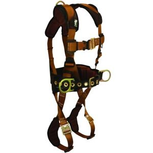 Falltech Fall Protection Harness Comfortech W quick Connects Belt Size 29 To 41