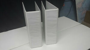 International Size View Binders A4 Binder 4 Rings White 3 Ct 2