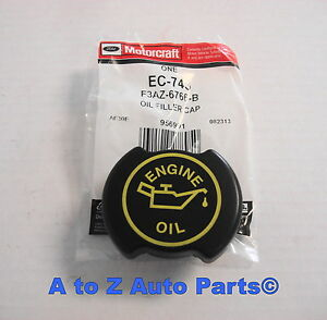 New Ford F150 F250 F550 Super Duty Lincoln Mustang Etc Oil Filler Cap Oem