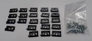 1968 1976 Dodge Dart 2dr Hardtop Swinger Gt Gts Windshield Molding Clip Kit 46pc