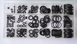 2pcs High Quailty 225 Pcs O ring Assortment Rubber Gasket Seal Oring