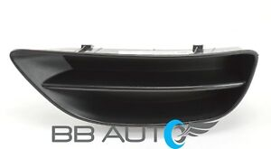 New Lh Front Bumper Fog Light Lamp Cover Grille For 2001 2002 Toyota Corolla