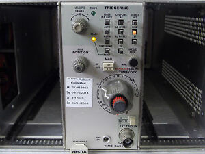 Tektronix Time Base Plug In Model 7b50a