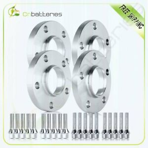 5x120mm 2 15mm 2 20mm W Bolts Hub Centric Wheel Spacers Adapters For Bmw