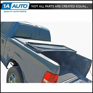 Tonneau Cover Soft Tri Fold For Toyota Tacoma Pickup Truck Double Cab 5ft Bed