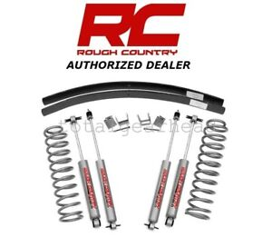 1984 2001 Jeep Xj Cherokee 2wd 4wd 3 Rough Country Suspension Lift Kit 670n2