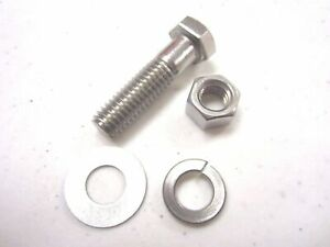 1255pc Stainless Steel Bolts Nut Washer Assortment