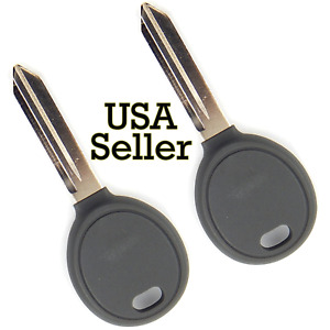 2x Transponder Ignition Car Key Case Replacement Blank For Chrysler Dodge Jeep