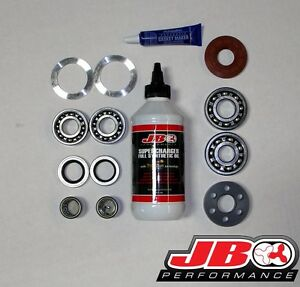 Trd Supercharger Full Rebuild Kit 07 09 Toyota Fj Cruiser 05 15 Tacoma 4 0l Mp90