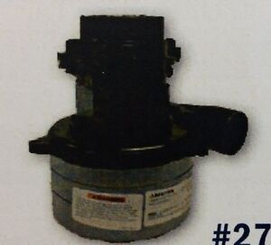 Graco 24 Volt 3 Stage Vaccuum Motor Replaces Tennant Pn 1025106