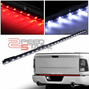 60 Red Stop brake Turn Signal Led Tailgate Bar white Reverse Light Pickup Truck