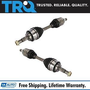 Trq Front Cv Axle Shaft Pair Set Of 2 For 4runner Fj Cruiser Gc470 New