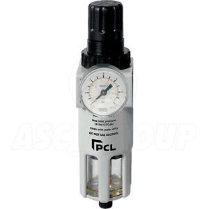 Pcl Professional Air Tools 1 2 Filter Regulator Air Line High Quality Atc12