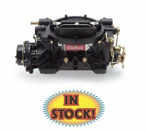 Edelbrock 14063 Performer 600 Cfm Carburetor With Electric Choke Black