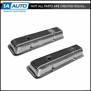 Oem High Performance Aluminum Valve Cover Pair Set Of 2 For Corvette Camaro 5 7l